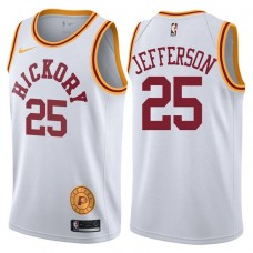 2017-18 Al Jefferson Indiana Pacers #25 White Hardwood Classic Edition Swingman Jersey