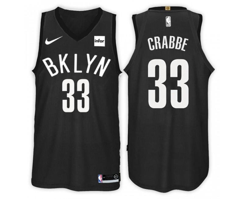 Brooklyn Nets #22 Caris LeVert Icon Black Swingman Jersey