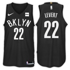 2017-18 Season Caris LeVert Brooklyn Nets #22 Statement Black Swingman Jersey