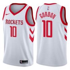 2017-18 Season Eric Gordon Houston Rockets #10 Association White Jersey