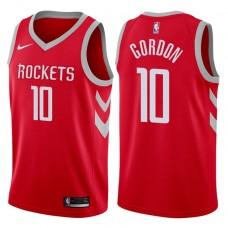 2017-18 Season Eric Gordon Houston Rockets #10 Icon Red Jersey