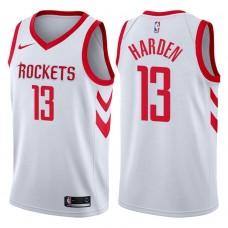2017-18 Season James Harden Houston Rockets #13 Association White Jersey