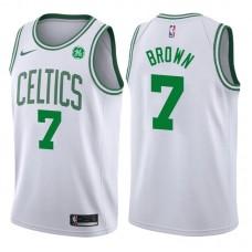 2017-18 Season Jaylen Brown Boston Celtics #7 Association GE White Jersey