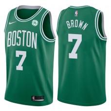 2017-18 Season Jaylen Brown Boston Celtics #7 Icon GE Green Jersey