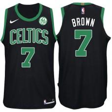 2017-18 Season Jaylen Brown Boston Celtics #7 Statement GE Black Jersey