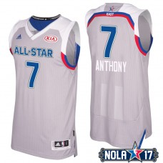 2017 All-Star Knicks Carmelo Anthony #7 Eastern Conference Gray Jersey