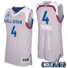 2017 All-Star Celtics Isaiah Thomas #4 Eastern Conference Gray Jersey