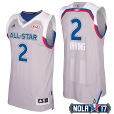 2017 All-Star Cavaliers Kyrie Irving #2 Eastern Conference Gray Jersey