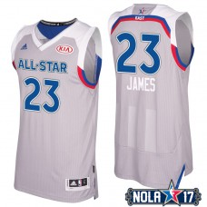 2017 All-Star Cavaliers LeBron James #23 Eastern Conference Gray Jersey