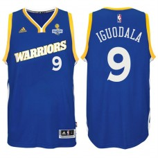 Andre Iguodala Golden State Warriors #9 NBA 2017 Finals Champions Patched Crossover New Swingman Jersey