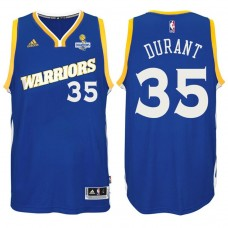 Kevin Durant Golden State Warriors #35 NBA 2017 Finals Champions Patched Crossover New Swingman Jersey