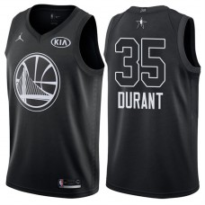 2018 All-StarWarriors Kevin Durant #35 Black Jersey