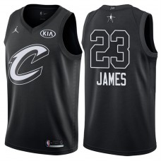 2018 All-StarCavaliers LeBron James #23 Black Jersey