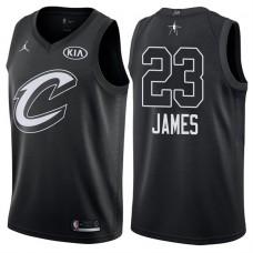 2018 All-StarCavaliers LeBron James #23 Black Jersey