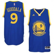 Andre Iguodala Golden State Warriors #9 2014-15 New Swingman Road Blue Jersey