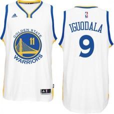Andre Iguodala Golden State Warriors #9 2014-15 New Swingman Road White Jersey