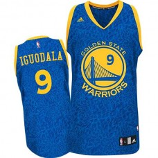 Andre Iguodala Golden State Warriors #9 Crazy Light Leopard Swingman Jersey