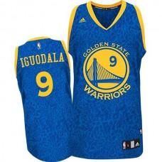 Andre Iguodala Golden State Warriors #9 Crazy Light Leopard Swingman Jersey