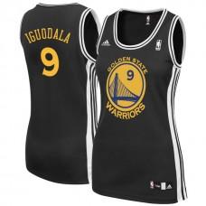 Women's Andre Iguodala Golden State Warriors #9 Black Jersey