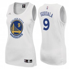 Women's Andre Iguodala Golden State Warriors #9 Home White Jersey