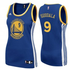 Women's Andre Iguodala Golden State Warriors #9 Road Blue Jersey