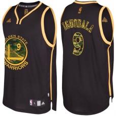 Andre Iguodala Golden State Warriors #9 Black Camo Fashio  Swingman Jersey