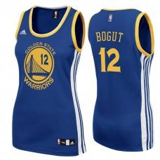 Women's Andrew Bogut Golden State Warriors #12 Road Blue Jersey