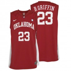 Blake Griffin NCAA Oklahoma Sooners #23 College Red Basketball Jersey