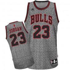 Chicago Bulls #23 Michael Jordan Static Fashion Swingman Jersey