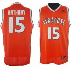 Carmelo Anthony Syracuse #15 Swingman Orange Jersey