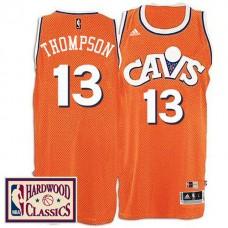 2016-17 Season Cleveland Cavaliers #13 Hardwood Classics Throwback Orange Jersey Tristan Thompson