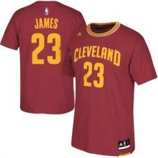 Cleveland Cavaliers #23 Lebron James New Swingman Red short sleeve Jersey