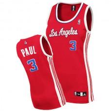 Women's Chris Paul Los Angeles Clippers #3 Swingman Red Jersey