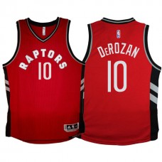 Youth 2015-16 DeMar DeRozan Toronto Raptors #10 Away Alternate Red Jersey