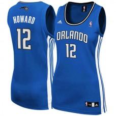 Women's Dwight Howard Orlando Magic #12 Blue Jersey