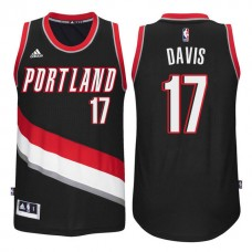 NBA Portland Trail Blazers #17 Ed Davis Red 2016-17 Christmas Day ...