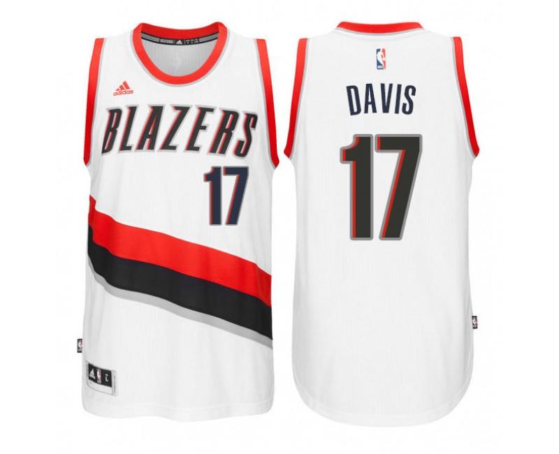 Brooklyn Nets #17 Ed Davis Icon Black Swingman Jersey