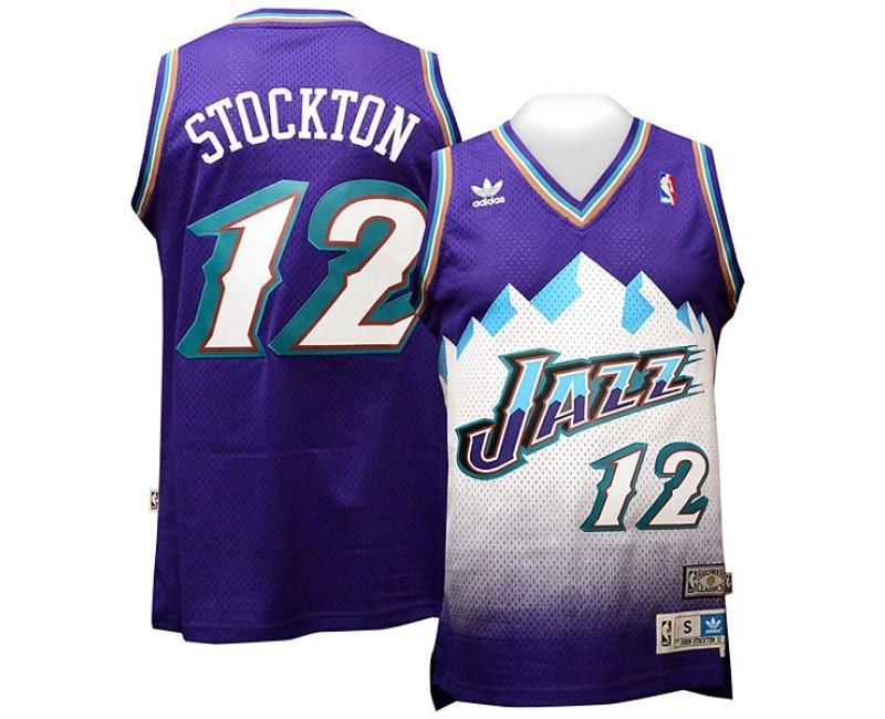 john stockton throwback jersey