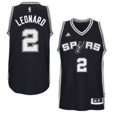 Kawhi Leonard San Antonio Spurs #2 2014-15 New Swingman Road Black Jersey