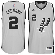 Kawhi Leonard San Antonio Spurs #2 2014-15 New Swingman Alternate Gray Jersey