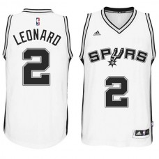 Kawhi Leonard San Antonio Spurs #2 2014-15 New Swingman Home White Jersey