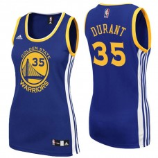 Women's Kevin Durant Golden State Warriors #35 Royal Blue Jersey