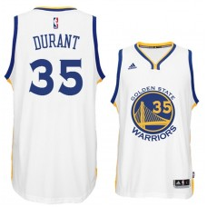 Kevin Durant Golden State Warriors #35 New Swingman White Home Jersey