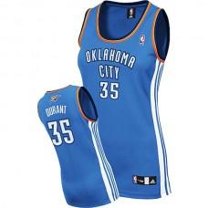 Women's Kevin Durant Oklahoma City Thunder #35 Blue Jersey