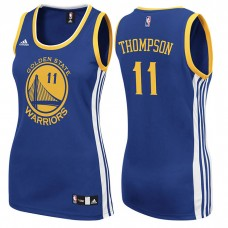 Women's Klay Thompson Golden State Warriors #11 Road Blue Jersey