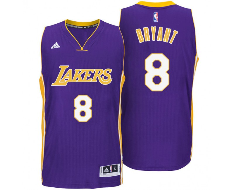 Kobe Bryant Los Angeles Lakers #8 Modern Away Purple Jersey