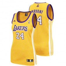 Women's Kobe Bryant Los Angeles Lakers #24 Pink Jersey