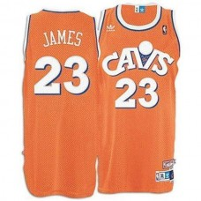 LeBron James Cleveland Cavaliers #23 2007 Hardwood Classics Jersey