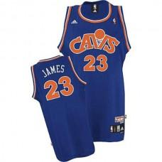 LeBron James Cleveland Cavaliers #23 2008 Hardwood Classics Retro Blue Jersey