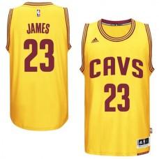 LeBron James Cleveland Cavaliers #23 2014-15 New Swingman Alternate Gold CAVS Jersey
